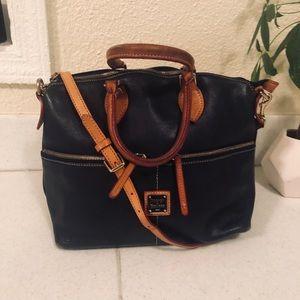 DOONEY AND BOURKE Dillen Double Pocket Satchel Bag